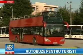 Tour-bus de Bucuresti. Turistii se pot plimba prin Capitala ca prin Londra. Cat costa un abonament
