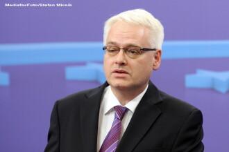 Vizita oficiala de stat in Romania a presedintelui Croatiei, Ivo Josipovic