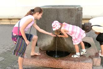 Apa potabila pentru clujeni in zilele caniculare