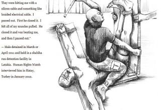 Ororile unei tari medievale intr-o era moderna. Torturile din Siria, povestite de victime si calai