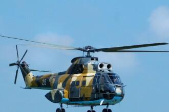 Un elicopter militar s-a prabusit in judetul Buzau. Ponta, mesaj pentru familiile celor 4 decedati