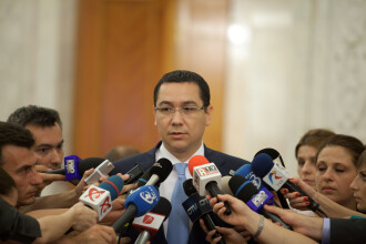 Ponta: Am solicitat si primit protectie in urma amenintarilor primite de familia mea si de copil