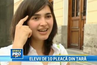 Elevii de 10 vor sa plece din tara.Cine e Kaftar Melek, primita la facultate in Paris inainte de BAC