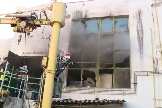 Pericol de explozie la Institutul de Sudura din Timisoara. Focul a distrus aparatura performanta