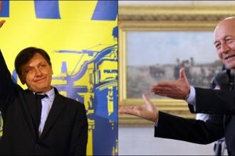 Crin Antonescu a preluat functia de presedinte interimar. Traian Basescu a plecat de la Cotroceni