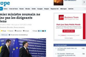Le Monde: Premierul roman Victor Ponta nu reuseste sa ii convinga pe liderii europeni