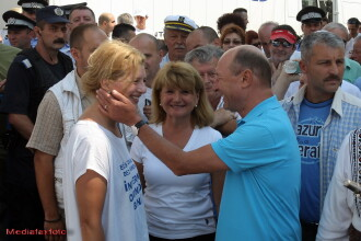 Referendum 2012. Basescu a aprins
