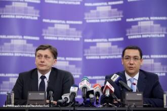 Antonescu si Ponta se intalnesc la Cotroceni cu presedintii celor doua Camere ale Parlamentului