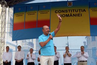 Basescu:Particip la miting la Iasi daca se respecta masurile de siguranta. Poate o punem de o bataie