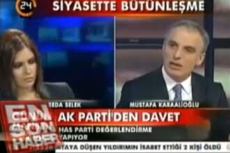 VIDEO. O prezentatoare din Turcia a lesinat in direct la TV