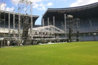 30.000 de oameni asteptati pe Cluj Arena. Marie si Perr vor servi mamaliga si vin din Ardeal