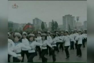 Cum au sarbatorit nord-coreenii numirea liderului lor in functia de maresal al armatei