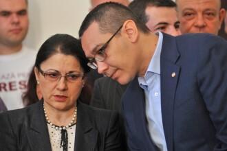 Ecaterina Andronescu nu ia in calcul retragerea titlului de doctor al lui Ponta