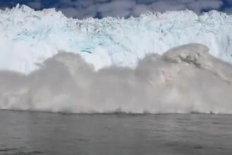 VIDEO. Momentul in care mai multi turisti dintr-o barca sunt la pas sa fie maturati de un val urias