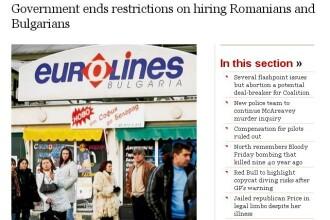 La 5 ani de la aderarea in UE, romanii au dreptul legal de a munci in Irlanda.Restrictiile, ridicate
