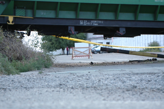 Un tren de marfa a deraiat in apropiere de Timisoara. Mecanicul locomotivei a ajuns la spital