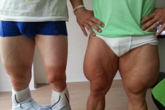 Doi sportivi de la JO s-au fotografiat in chiloti, pentru a face o comparatie. Diferenta e SOCANTA