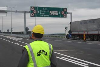 Circulatia pe autostrada Arad-Timisoara, inchisa pentru perioade de scurta durata. Vezi cand se impun restrictiile