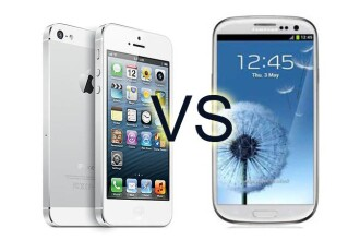 iPhone 5 vs. Samsunx Galaxy S4. Care este cel mai criticat gadget