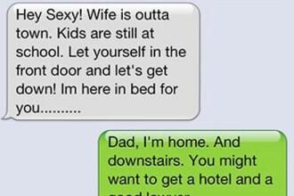 """Tati, poate vrei sa te muti la hotel"". Ce mesaj a primit un baiat de la tatal sau"