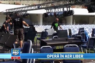 Cel mai mare festival de opera in aer liber revine in judetul Hunedoara. Pregatirile sunt in toi