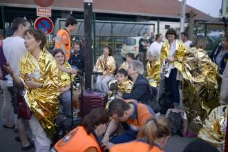 Accidentul de tren din Franta, provocat de o defectiune de macaz. 6 morti si 30 de raniti