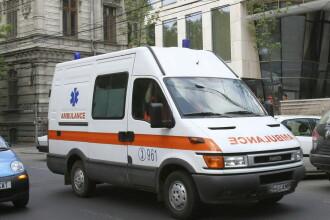 Copil de 3 ani din Capitala, internat la spitalul Marie Curie, dupa ce a cazut de la etajul VIII