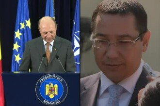 Victor Ponta il acuza pe Traian Basescu de