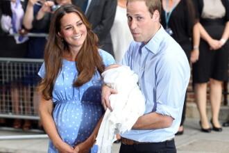 Ce au trecut Ducele si Ducesa de Cambridge, in certificatul de nastere al Printului George