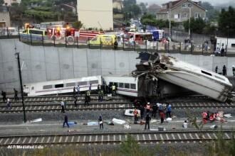 Viteza excesiva, una din principalele cauze ala tragediei din Spania. Trenul avea 190 km/h