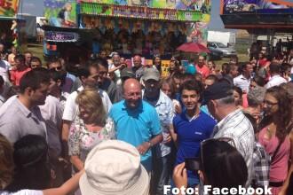 Presedintele Traian Basescu si-a petrecut weekendul in Marginimea Sibiului