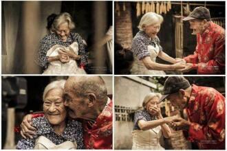 Un vis indeplinit la 81 de ani de casatorie: povestea unui cuplu de chinezi ofera o lectie tuturor