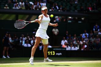 WIMBLEDON 2014: Simona Halep, prima romanca in semifinalele competitiei. Astazi joaca cu Bouchard pentru un loc in finala