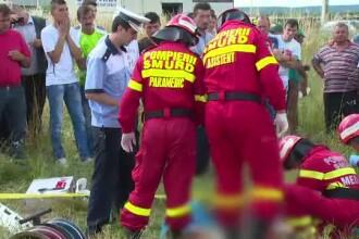 Accident grav in judetul Arges. Trei barbati si-au pierdut viata dupa ce soferul a incercat o depasire pe contrasens
