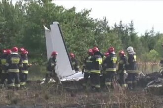 STIRI EXTERNE PE SCURT. Accident aviatic in Polonia si unul dintre cei mai cautati teroristi apare intr-o inregistrare video