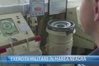STIRI EXTERNE PE SCURT. Exercitii militare de amploare in Marea Neagra si explozii in serie in Ucraina