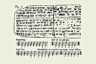 Aceasta este cea mai veche piesa muzicala din lume, compusa in urma cu 3.400 de ani: AUDIO