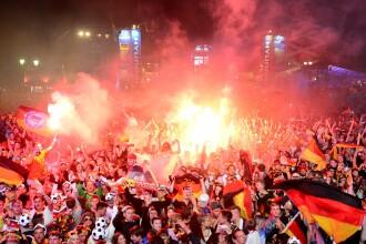 Peste un miliard de oameni au urmarit FINALA CAMPIONATULUI MONDIAL. La Berlin, 250.000 de nemti au sarbatorit in strada