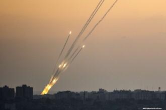 Razboi la un alt nivel. Armata israeliana sustine ca a doborat o drona lansata din Fasia Gaza