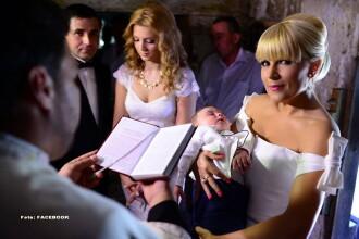 Elena Udrea este din nou nașă. Al cui este copilul botezat de liderul Partidului Miscarea Populara. FOTO
