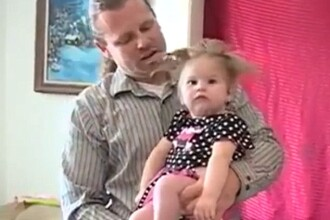 Lovita de fulger, o femeie din SUA a nascut inainte de termen. Cum arata fetita