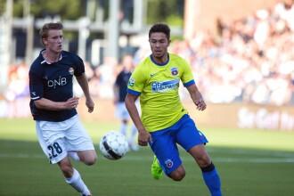 LIGA CAMPIONILOR. Steaua i-a invins pe norvegienii de la Stromsgodset cu 1-0, in prima mansa a turului doi preliminar