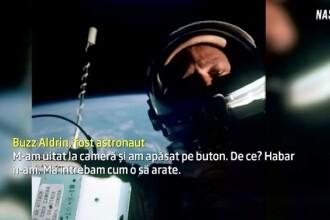 Primul selfie a fost facut in 1966, in spatiu. Astronautul Buzz Aldrin a povestit cum s-a petrecut totul