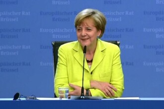 Angela Merkel implineste 60 de ani. Cadoul primit de cancelarul german din partea liderilor europeni de la Bruxelles