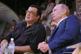 Steven Seagal vrea un post de guvernator în Rusia