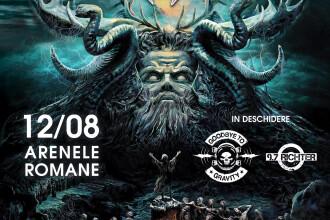Romanii de la Goodbye To Gravity si 9,7 Richter canta in deschiderea concertului Testament din Bucuresti