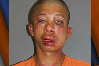 Un tata american l-a strivit in bataie pe tanarul care i-a molestat fiul. FOTO