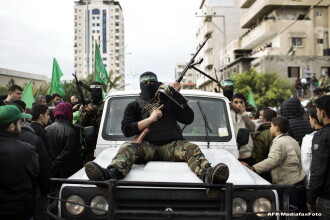 """Hamas va participa la o """"reuniune de urgenţă"""" cu Abbas cu privire la planul de pace al lui Trump"""