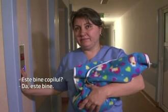 Bebelus de cateva zile, abandonat intr-un cabinet medical din Vaslui. Politistii incearca sa dea de urma parintilor