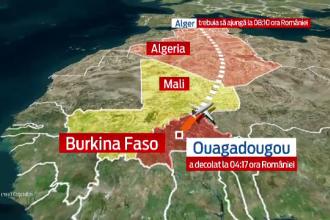Avionul companiei Air Algerie a fost gasit in nordul Mali. Ipoteza unui act terorist este luata in calcul